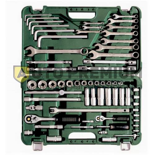 Набор для ремонта отечественных автомобилей гаражный 64 предмета «Дело Техники»